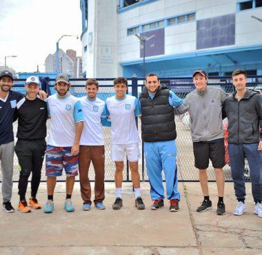 Tenis: Racing campeón nacional interclubes - La Comu de Racing Club