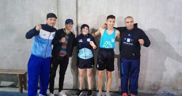 Victoria académica en el boxeo - La Comu de Racing Club