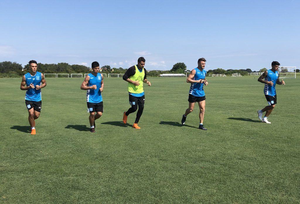 Un solo turno de entrenamiento - Pretemporada en Orlando - La Comu de Racing