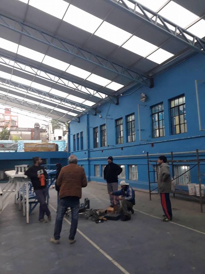 Crece y se en juvenece - Obras en la sede Villa del Parque - La Comu de Racing