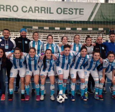 Frenético empate en Caballito - La Comu de Racing Club - Futsal femenino