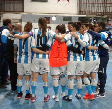 Derrota en casa - La Comu de Racing Club - Derrota del futsal femenino
