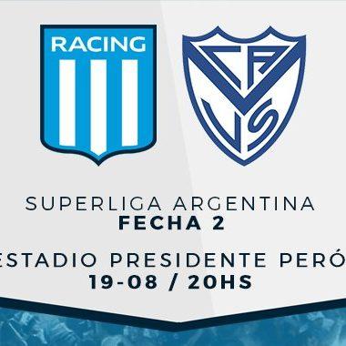 """Previa vs Vélez: """"Pisar fuerte en casa"""" - La Comu de Racing Club"""