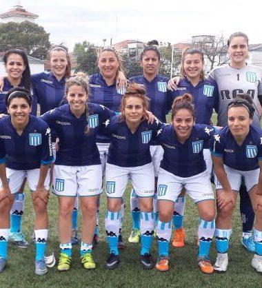 Arranque inmejorable - La Comu de Racing Club - Triunfo Fútbol femenino