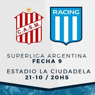 "Previa vs San Martín (T): ""Reanudar en la punta"" - La Comu de Racing"