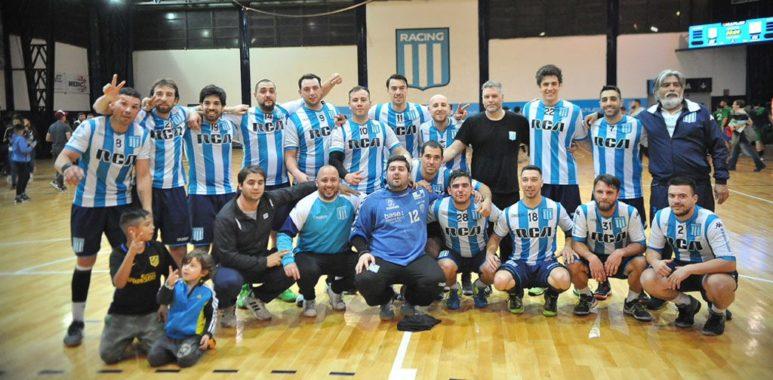 Ascenso asegurado - La Comu de Racing Club - Ascenso del Handball