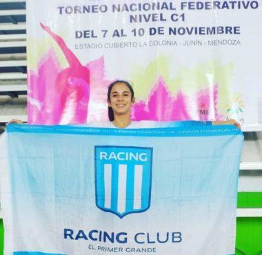 Gran actuación de la juvenil Luciana Villasanti - La Comu de Racing Club