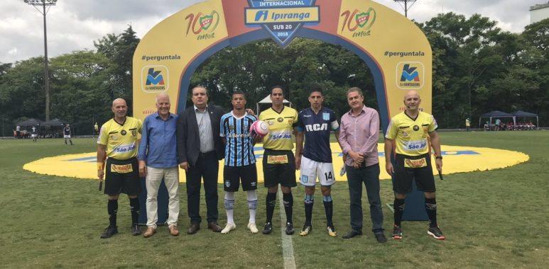 Empate en el inicio de la Copa Ipiranga Sub 20 - La Comu de Racing Club Gremio