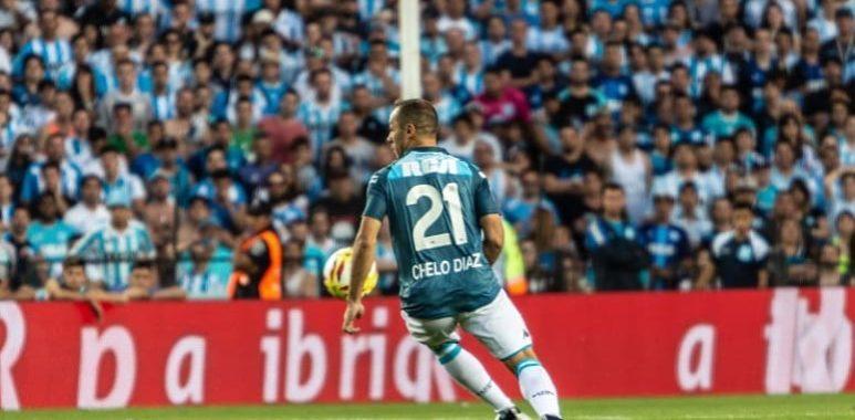 """Díaz: """"Me quiero quedar en Racing, no me importa la plata"""""""