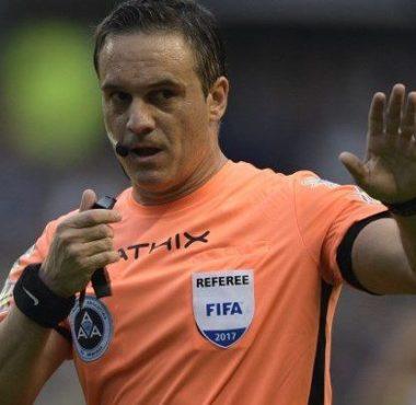 Patricio Loustau, el árbitro ante Talleres de Córdoba - La Comu de Racing