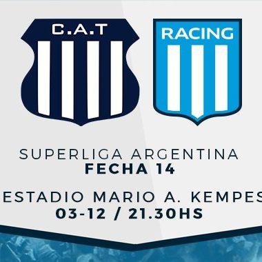 "Previa vs Talleres: ""Visita riesgosa"" - La Comu de Racing Club"