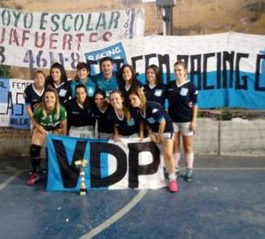 Futsal ¡Bicampeonas! No hay quien pueda con ellas - La Comu de Racing Club
