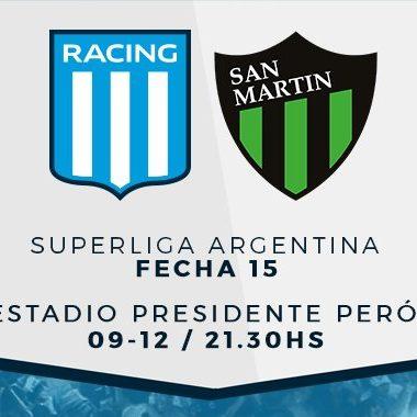 """Previa vs San Martín (SJ): """"Por el cierre perfecto"""" - La Comu de Racing"""