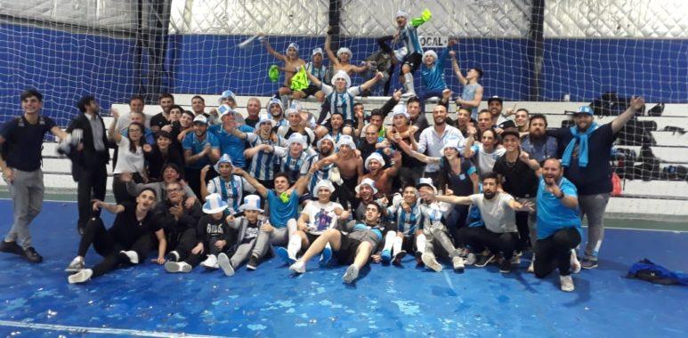 Futsal Racing ya tiene su primera competencia oficial - La Comu de Racing Club