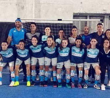 Show de goles del Futsal femenino - La Comu de Racing Club