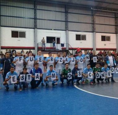 Futsal masculino Partidazo en Gerli - La Comu de Racing Club
