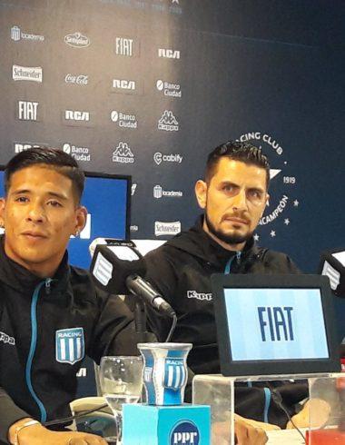 Zaracho Arias Me quiero quedar a jugar la Libertadores
