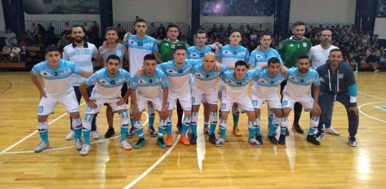 Racing Hebraica Futsal masculino: Un tropezón de local
