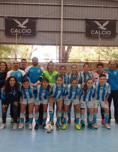 Futsal femenino Goleada a domicilio