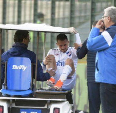 Rodrigo Amaral sufrió una grave lesión