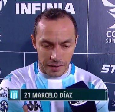 Díaz Racing El desgaste físico y mental terminó marcando la diferencia