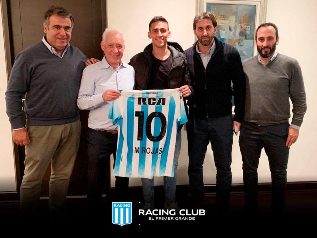 Matías Rojas es nuevo jugador de Racing