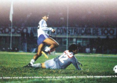 Racing Club campeón Supercopa 1988