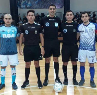 Futsal masculino; Rescató un punto