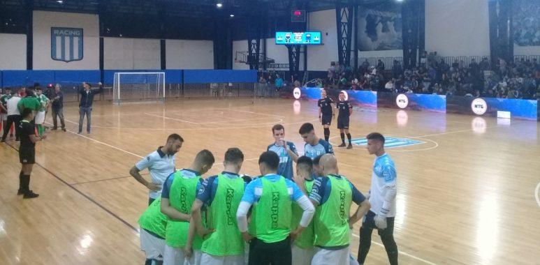 El futsal masculino de Racing perdió ante El Talar