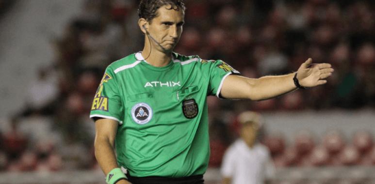 el árbitro ante Unión