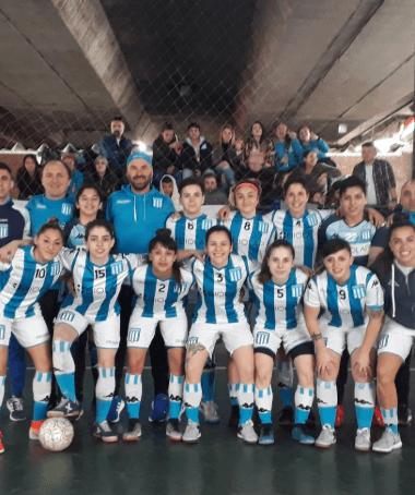 El futsal femenino avanzó en la Copa Argentina