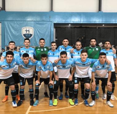 Triunfo del futsal masculino en Pilar