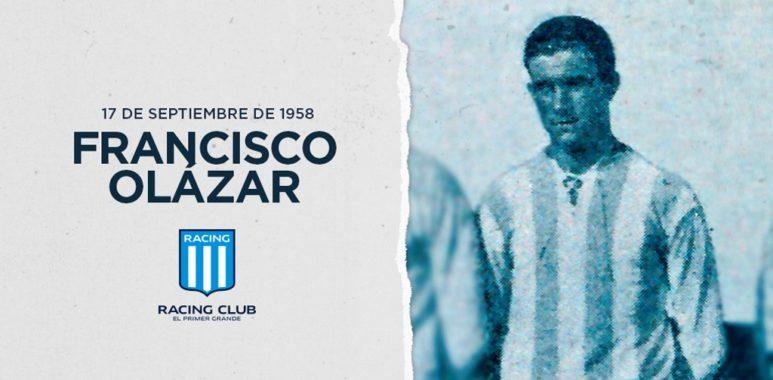 "Francisco Olazar, capitán de ""La Academia"