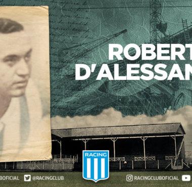 Roberto Jorge D'Alessandro, el nombre del gol