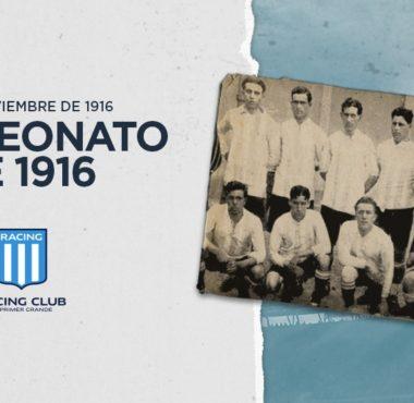 A 103 años de la conquista del cuarto título