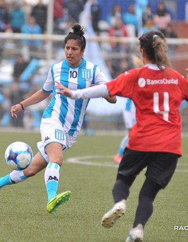 Johanna Galliotti, la pelota siempre a la diez