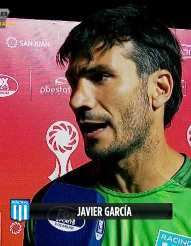 Las sensaciones de García tras el amistoso