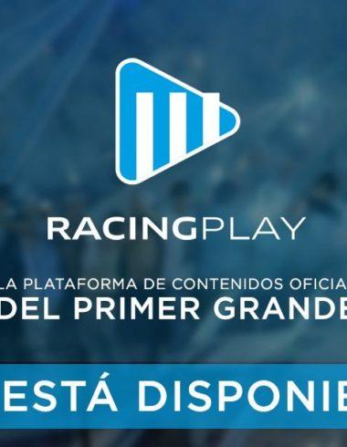 RACING CLUB PLAY: UNA NUEVA PLATAFORMA DIGITAL