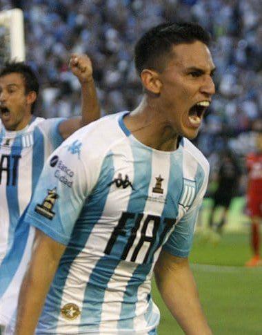 Matías Rojas ya palpita el clásico de Avellaneda