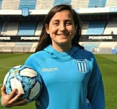 Rocío Macarena Díaz hace historia en Racing