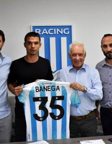 Tiago Banega firmó contrato con Racing