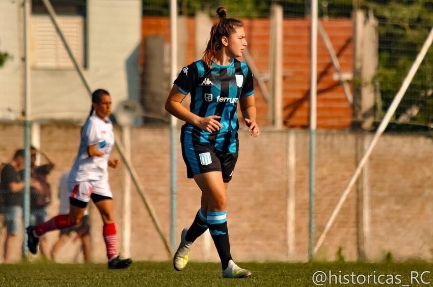 Eugenia Nardone, la zurda de Racing
