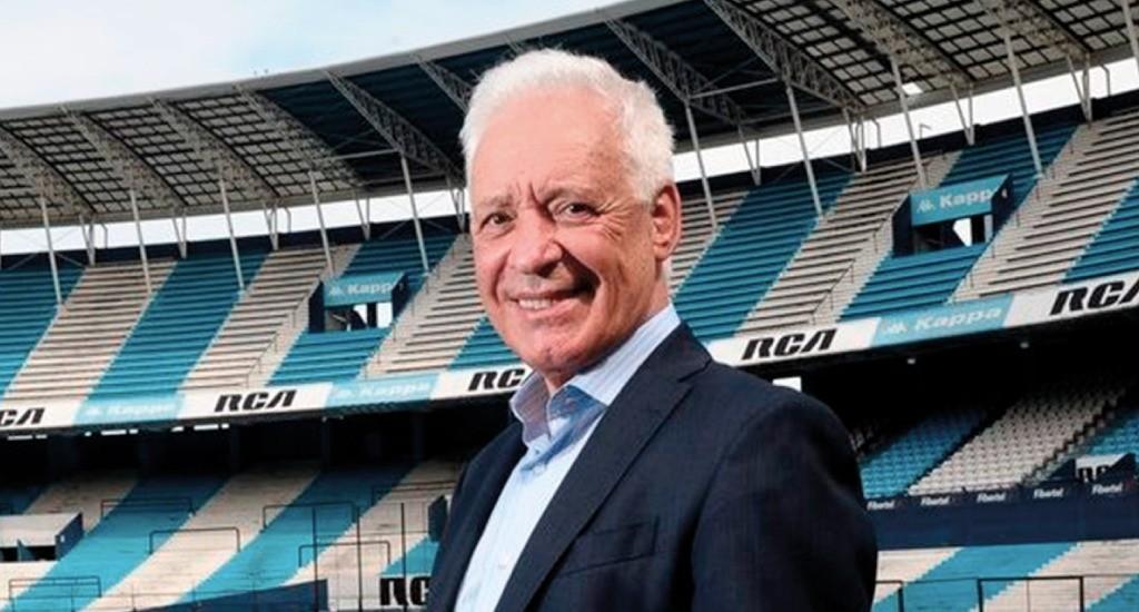 Racing y la renovación de contrato de tres figuras