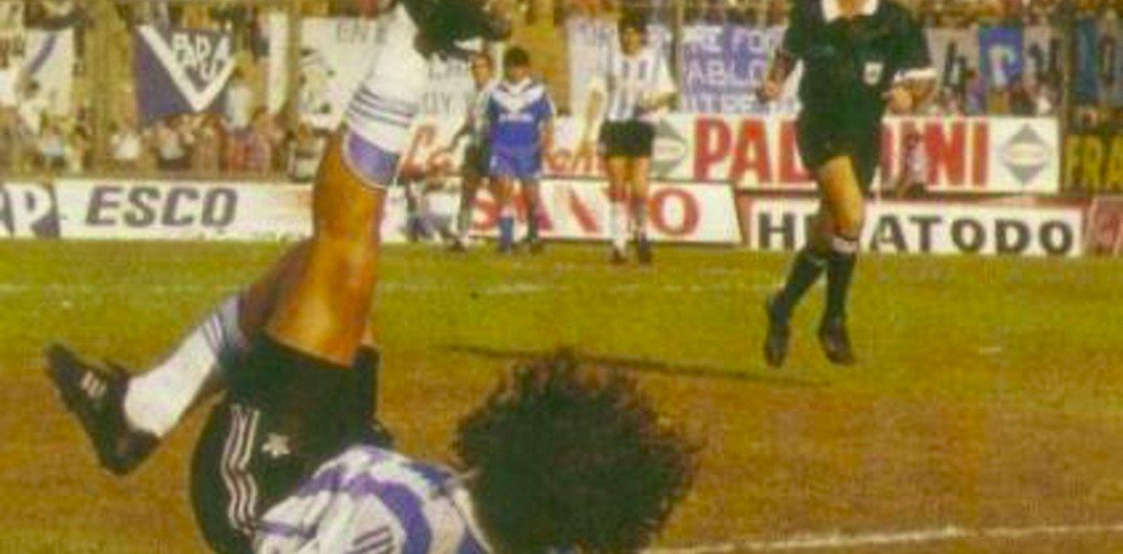 Juan Fleita, el de los goles más recordados de Racing