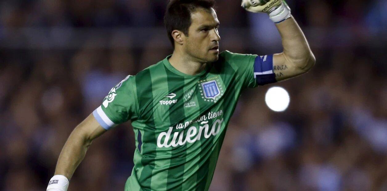 Sebastián Saja, la muralla del campeón