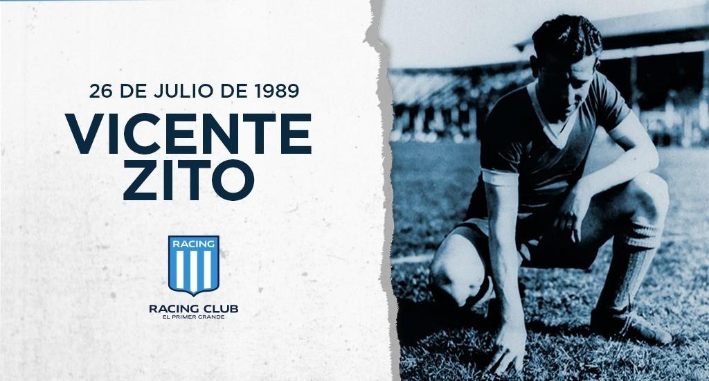 A 31 años del fallecimiento de Vicente Antonio Zito