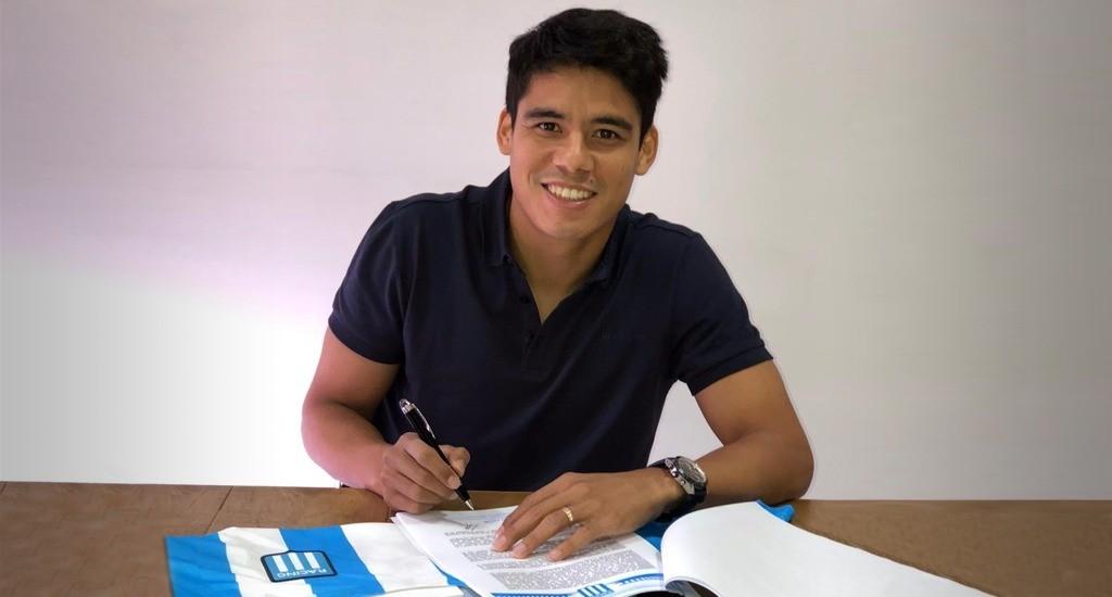 Melgarejo puso la firma en Racing