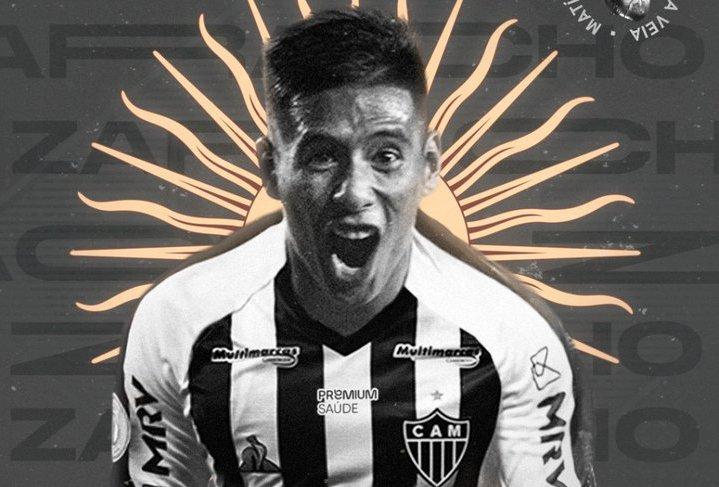 Matías Zaracho fue presentado en Atlético Minero