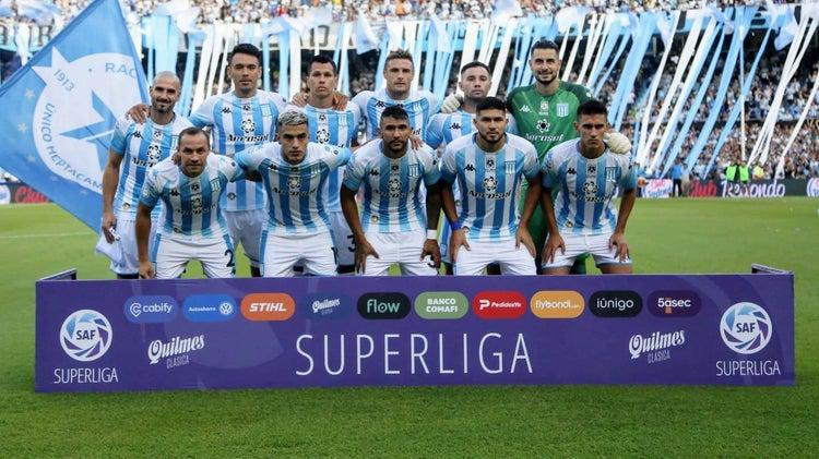 Racing conoce a sus rivales para la Copa Liga Profesional