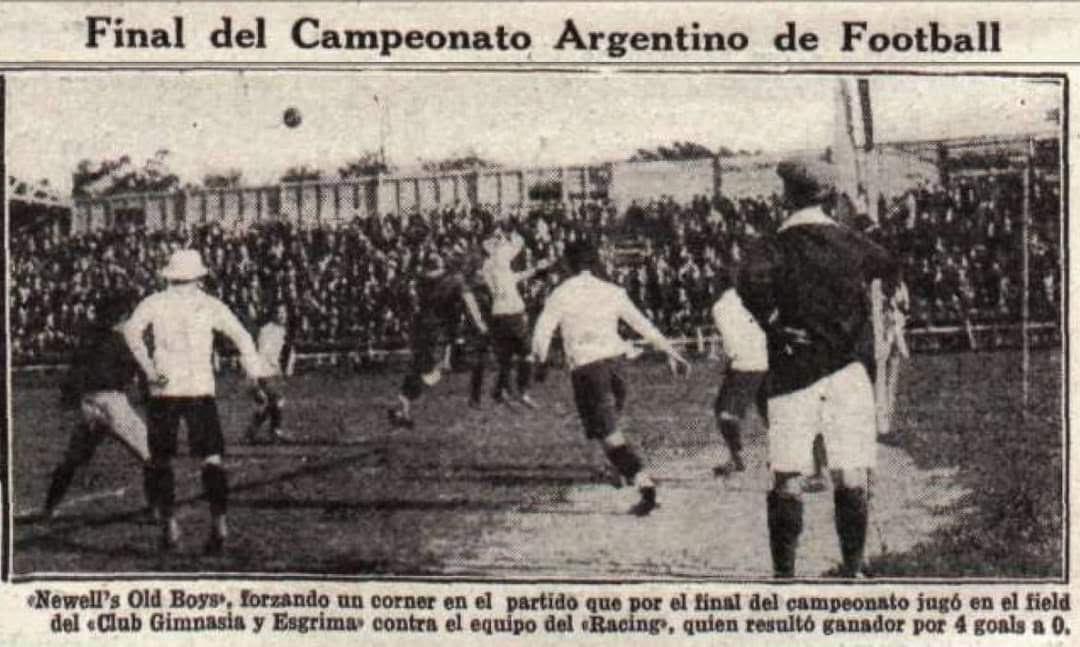 Hace 102 años Racing ganó la Copa Ibarguren